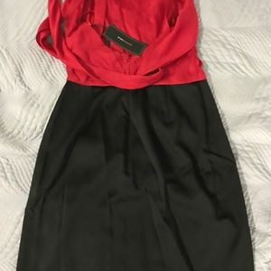 Brand new Red and Black Dress